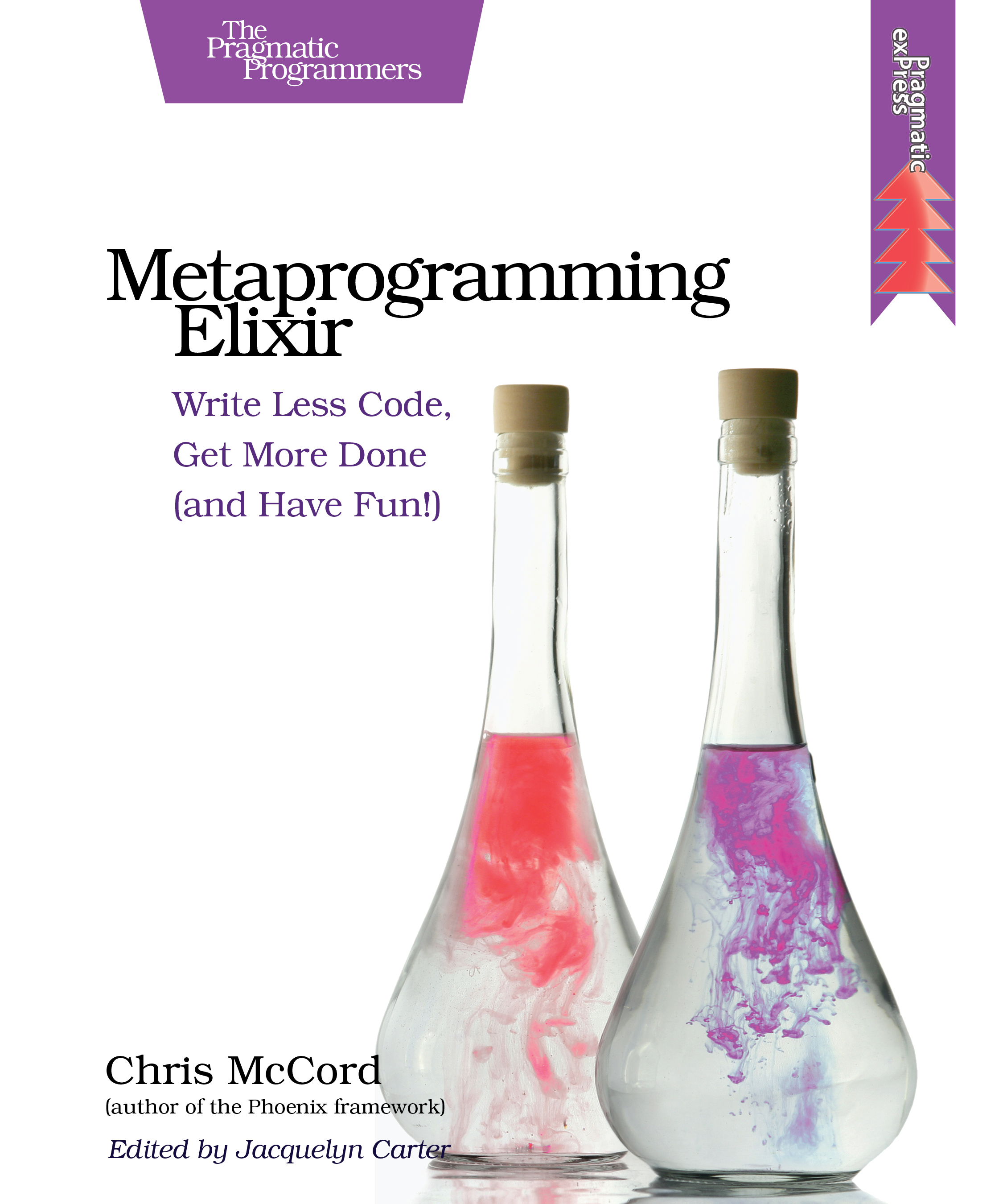 Cover of the book Metaprogramming Elixir